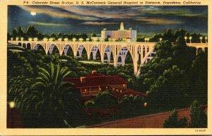 California Pasadena Colorado Street Bridge U S McCornack General Hospital In ...