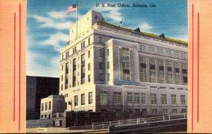 Georgia Atlanta Post Office 1962