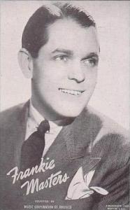 Mutoscope Postcards Frankie Masters Music Corporation Of America Big Band Era