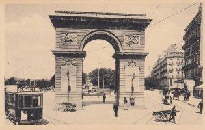 DIJON, France, 1900-10s , La Porte Guillaume et la Place Darcy