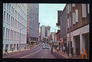 Atlanta,Georgia/GA Postcard, Five Points, 1960's?