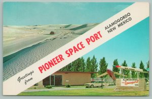 Alamogordo New Mexico~Pioneer Space Port~White Sands~Station Wagon~1960s