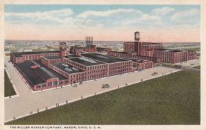Ohio Akron The Miller Rubber Company Curteich