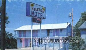 Hilltop Motel, Branson, MO, USA Motel Hotel Postcard Post Card Old Vintage An...