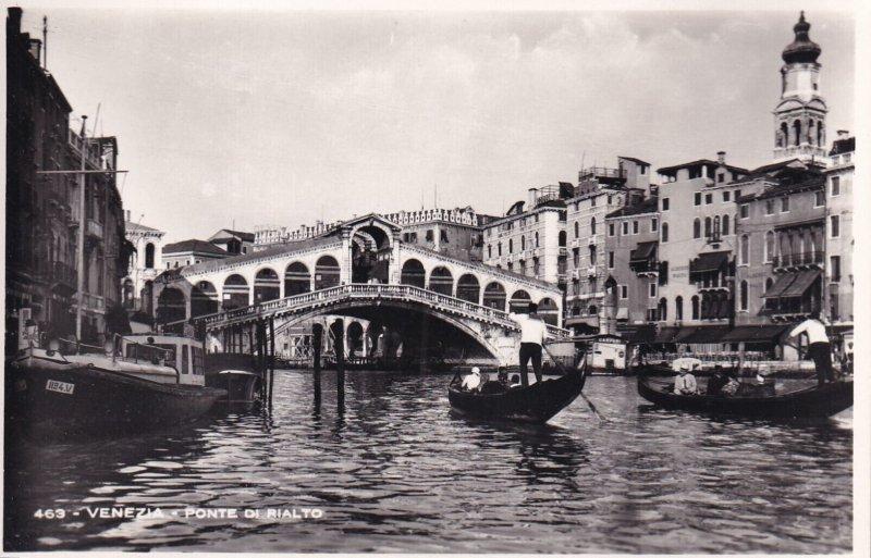 RP; VENEZIA, Veneto, Italy, 1920-1940s; Ponte Di Rialto