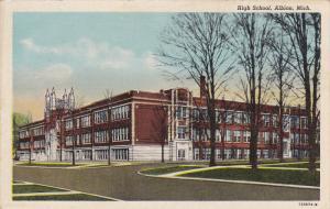 ALBION, Michigan, PU-1951; High School