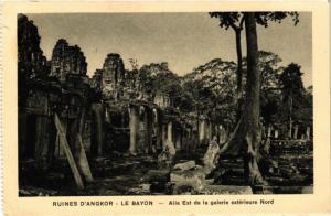 CPA CAMBODIA Ruines d'ANGKOR - Le BAYON - Aile Est de la galerie ext. (301118)