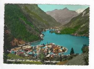RP: Dolomiti, Italy, PU-1958, Lago di Alleghe