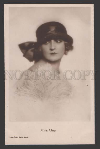 112646 EVA MAY German Silent MOVIE Belle ACTRESS Vintage PHOTO