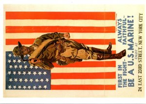 Military Enlist Poster United States Marines