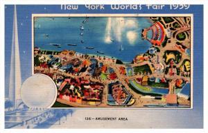 20116  New York City World's fair  Amusement Area