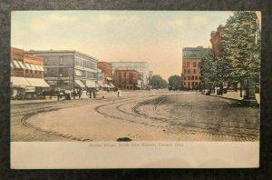 Mint Vintage Market Street Canton Ohio Real Picture Postcard RPPC
