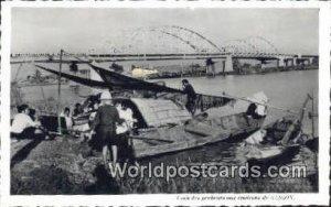 Printed Photo Coin des Pecheurs aux environs Saigon Vietnam, Viet Nam Unused
