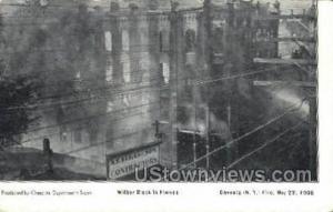 Wilber Block Oneonta NY Unused