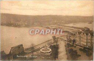 Postcard Old Rochester Bridge