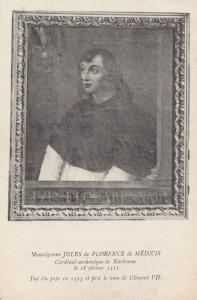 Jules De Florence De Medicis Narbonne Medici Family French Antique Postcard