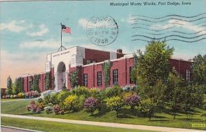 Municipal Water Works Fort Dodge Iowa 1948