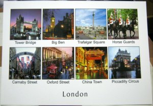 England London Carnaby Street Oxford Street etc - posted