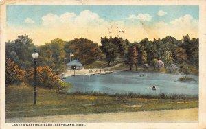 LPS26 CLEVELAND Ohio Garfield Park Lake Postcard