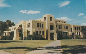 Exterior,  Eddy County Courthouse,  Calsbad,   New Mexico,   40-60s