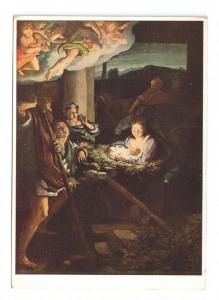 Nativity Painting Correggio Heilige Nacht Holy Night Dresden