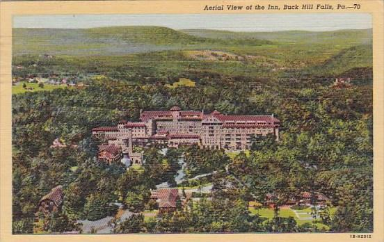 Aerial View Of The Inn Buck Hill Falls Pennsylvania 1949