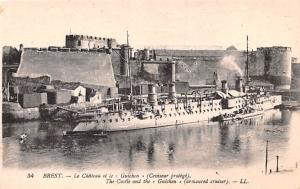 Brest France Le Chateau, The Castle Brest Le Chateau, The Castle