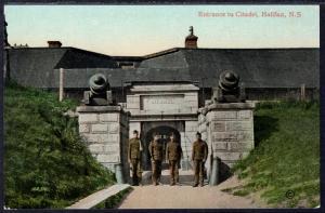Entrance to Citadel,Halifax,Nova Scotia,Canada