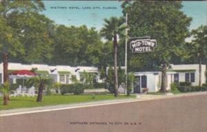 Florida Lake City Mid-Town Motel 1956