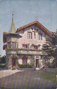 Germany Oberammergau Haus des Christusdarstellers Anton Lang