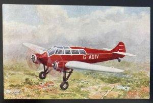 Mint England Color Picture Postcard Aviation Monsopar ST 25 Speed Airplane B