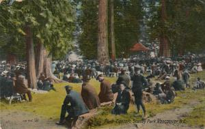 VANCOUVER, B.C., Canada, 00-10s; Band Concert, Stanley Park