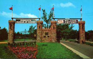 Minnesota Chisholm Museum Of Mining Gateway Entrance