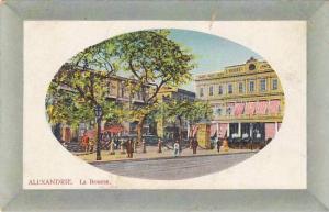 ALEXANDRIE , Egypt , La Bourse , PU-1915