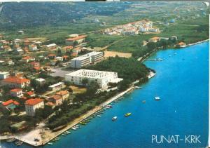 Croatia, Punat KRK 1980s used Postcard