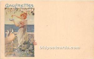 Advertising Postcard - Old Vintage Antique  Vanille Sugar Pernot