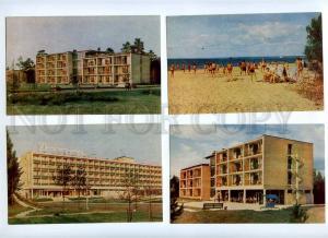 182244 Russia Sestroreck Pension Dunes Set of 12 old postcards