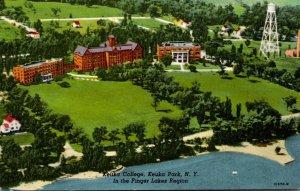 New York Finger Lakes Region Keuka Park Keuka College Curteich