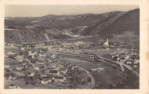 Stechovice Czech Republic Birdseye View Real Photo Antique Postcard K11408