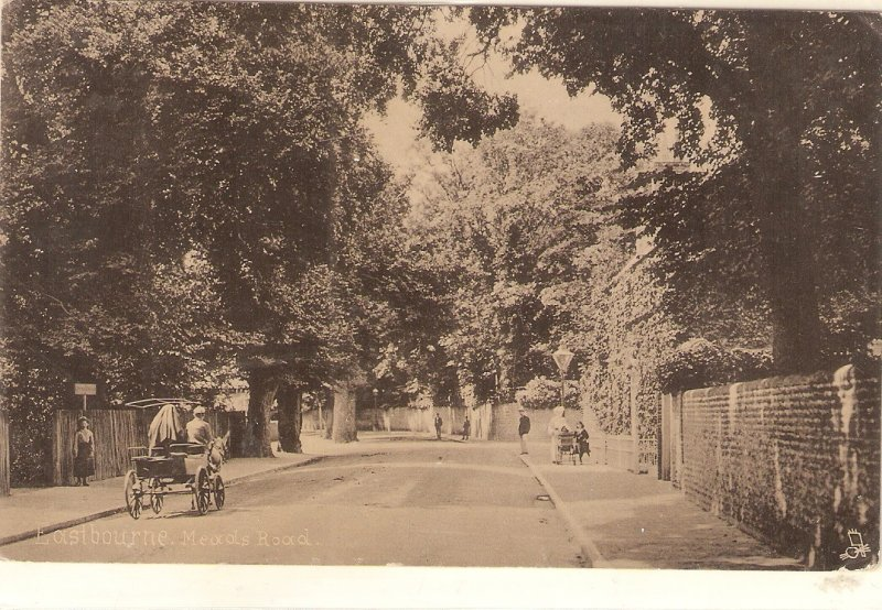 Eastbourne. . Meads Road Tuck Silkverette Series PC # 1596