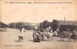 Mali Timbuktu Soudan, Les aniers de Tombouctou (Village de Kabara)