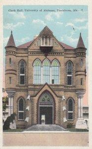 TUSCALOOSA , Alabama , 1910s ; Clark Hall , University of Alabama