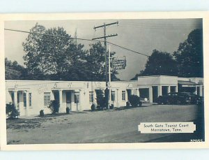 1940's SOUTHGATE TOURIST COURT MOTEL Morristown Tennessee TN AD9135