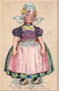 Dutch Girl , PU-1907 TUCK#108