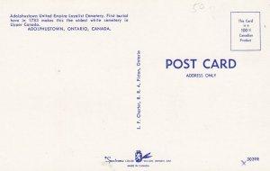 ADOLPHUSTOWN, Ontario, Canada, 1950-1960's; Adolphustown United Empire Loyali...