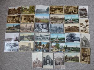 bu0146 - Norwich , Norfolk - 33 postcards - All Showing