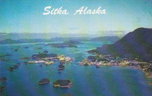 Alaska Sitka Aerial View