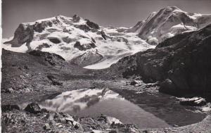 RP, Monte Rosa - Lyskamm, Riffelsee Ob ZERMATT (Valais), Switzerland, 1920-1940s