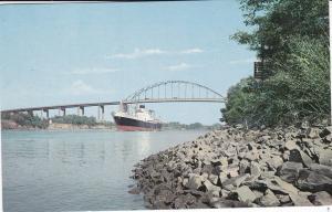 ST GEORGES , Delaware, 1950-60s; High Level Bridge