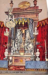 Spain Old Vintage Antique Post Card El Cristo de la Vega Toledo Unused